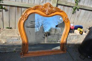 Gilded Gold Leaf Mirrors DIY Tutorial