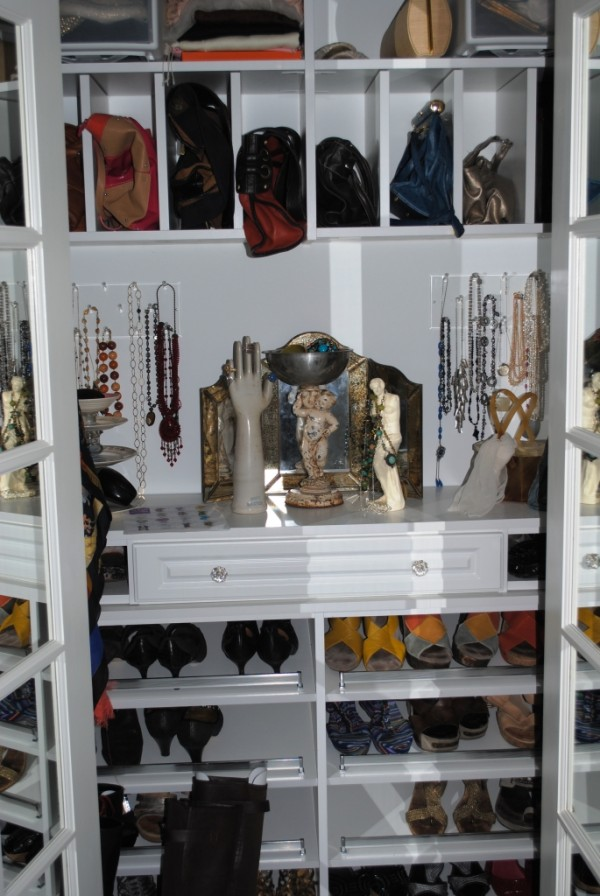 The ACCESSORY Closet! This Is The Closet To The Right Of Vanity Desku2026and  Something Iu0027ve Dreamed Of For Years. All You Need Is Around 4 Feet To  Dedicate This ...
