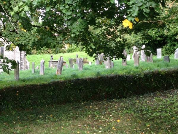 graveyard, from afar