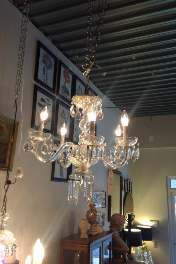 Raleigh Interior Design, chandelier
