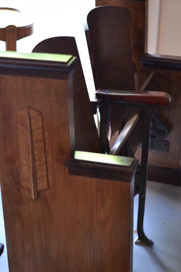Raleigh Interior Design, church pew