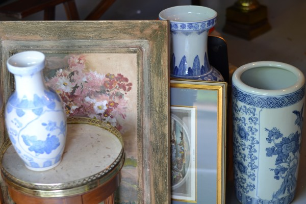 Raleigh Interior Design, blue and white chinese porcelain