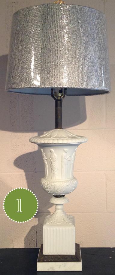 Too short lampshade