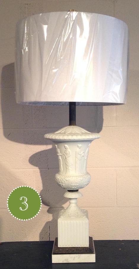 white drum shade modern lampshade traditional lamp