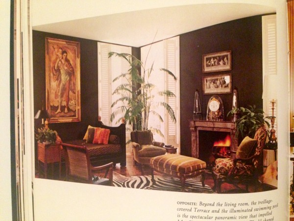 decorating with dark walls, deep toned walls, renaissance painting