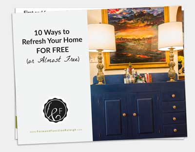 10 Ways to Refresh Your Home for Free (or Almost Free)