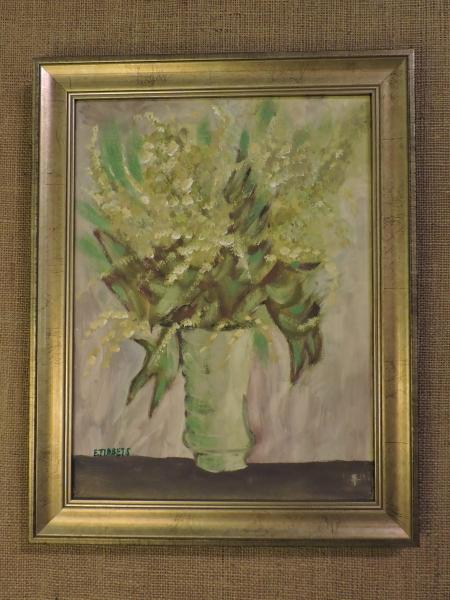 Floral Still Life Framed Painting