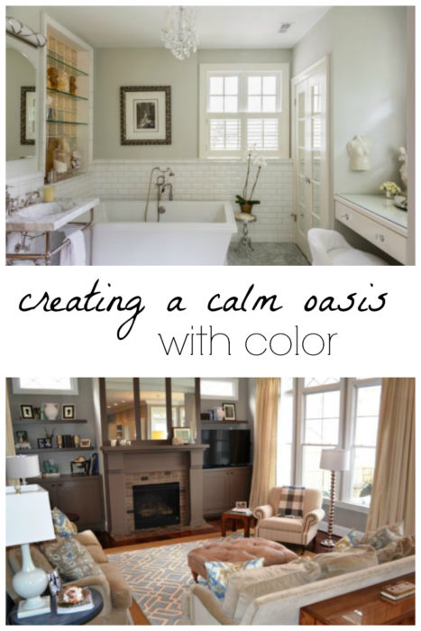 Creating a Calm Oasis with Color