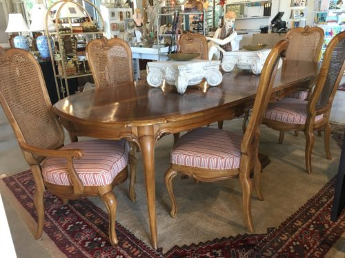 French Dining Room Set 6 Dining Chairs Form Function