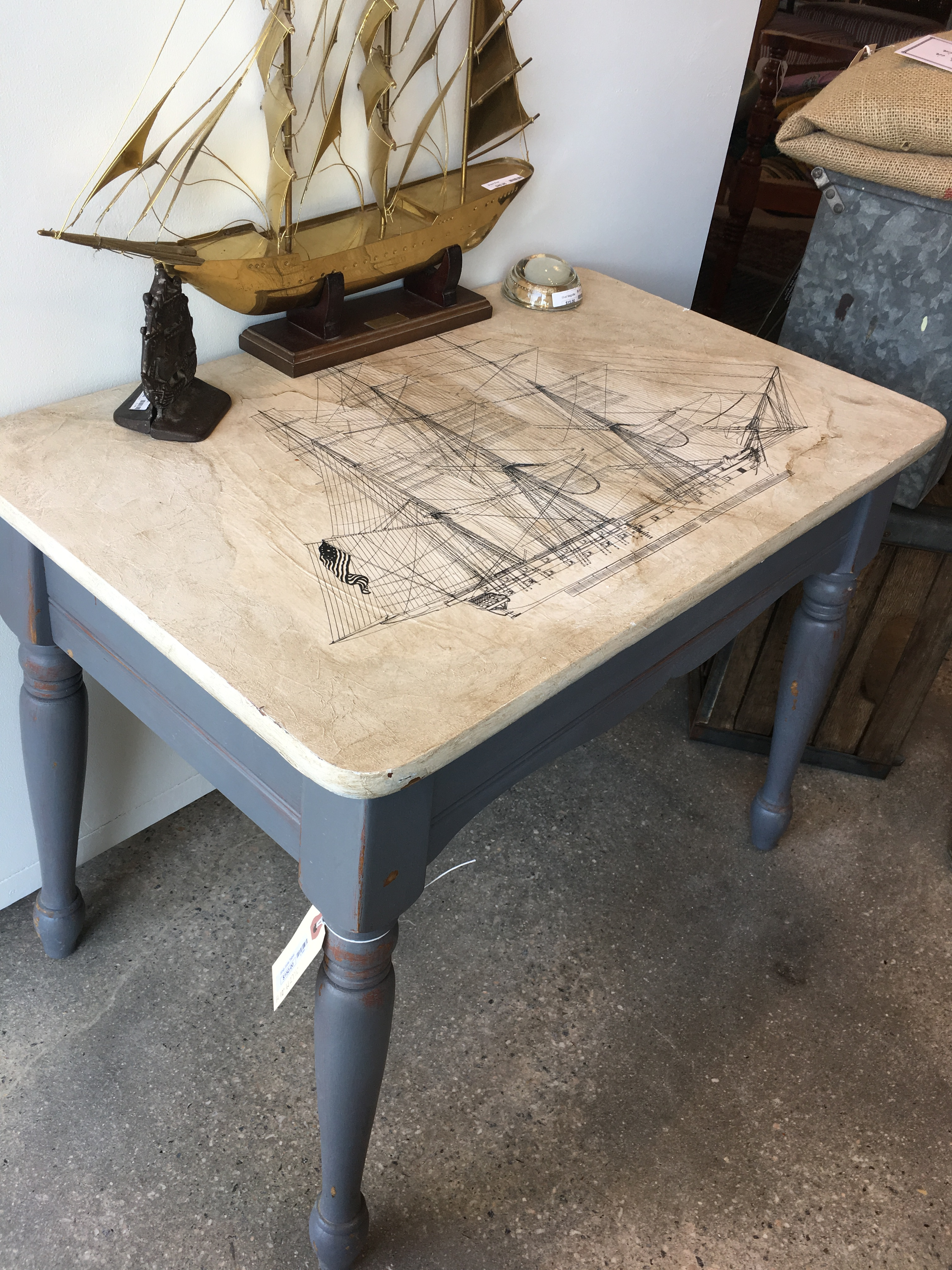Ship Side Table Form Amp Function
