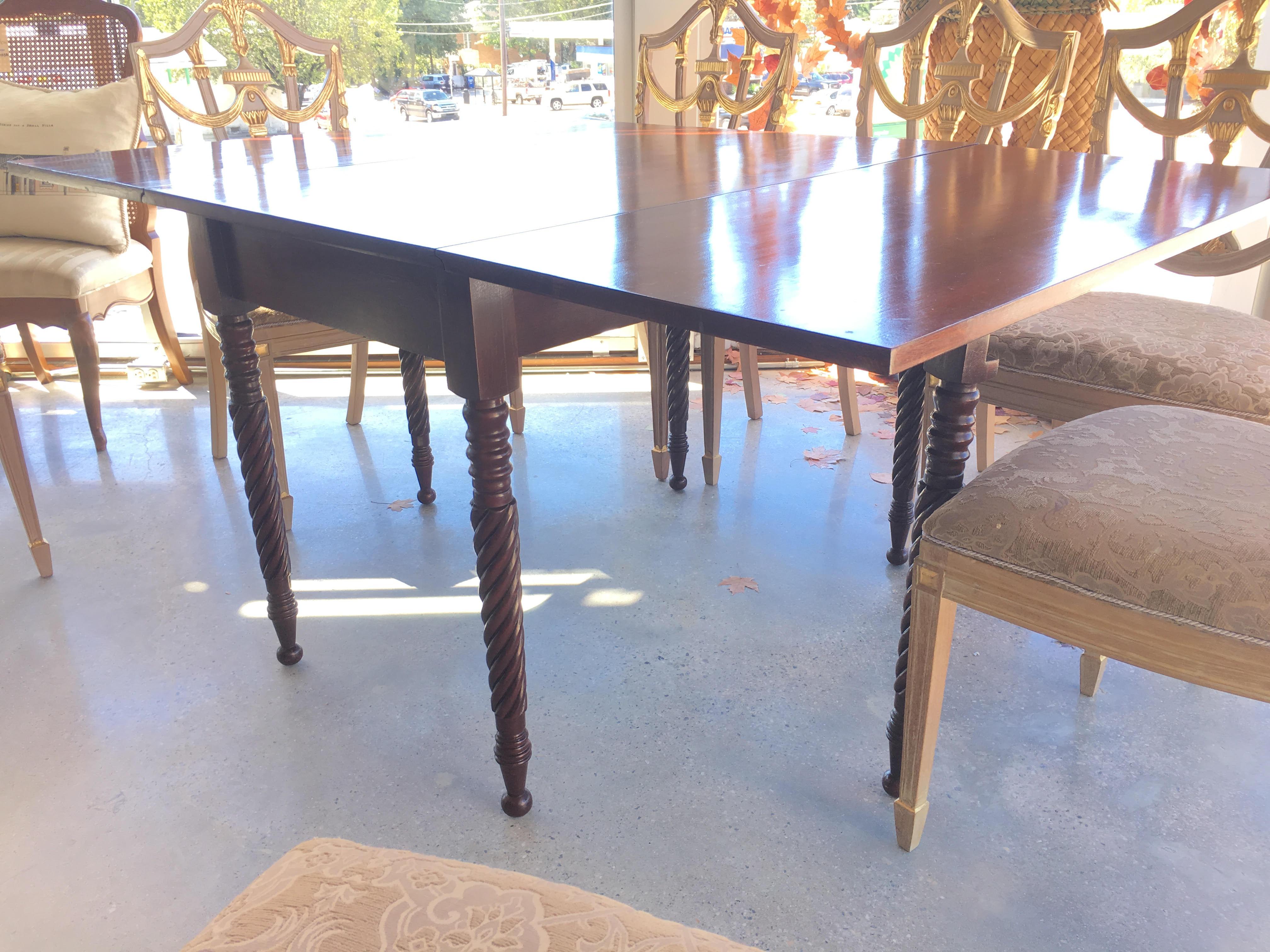 barley leg drop leaf dining room table form function