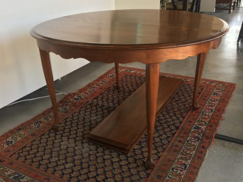 Round Butternut Table Form Amp Function