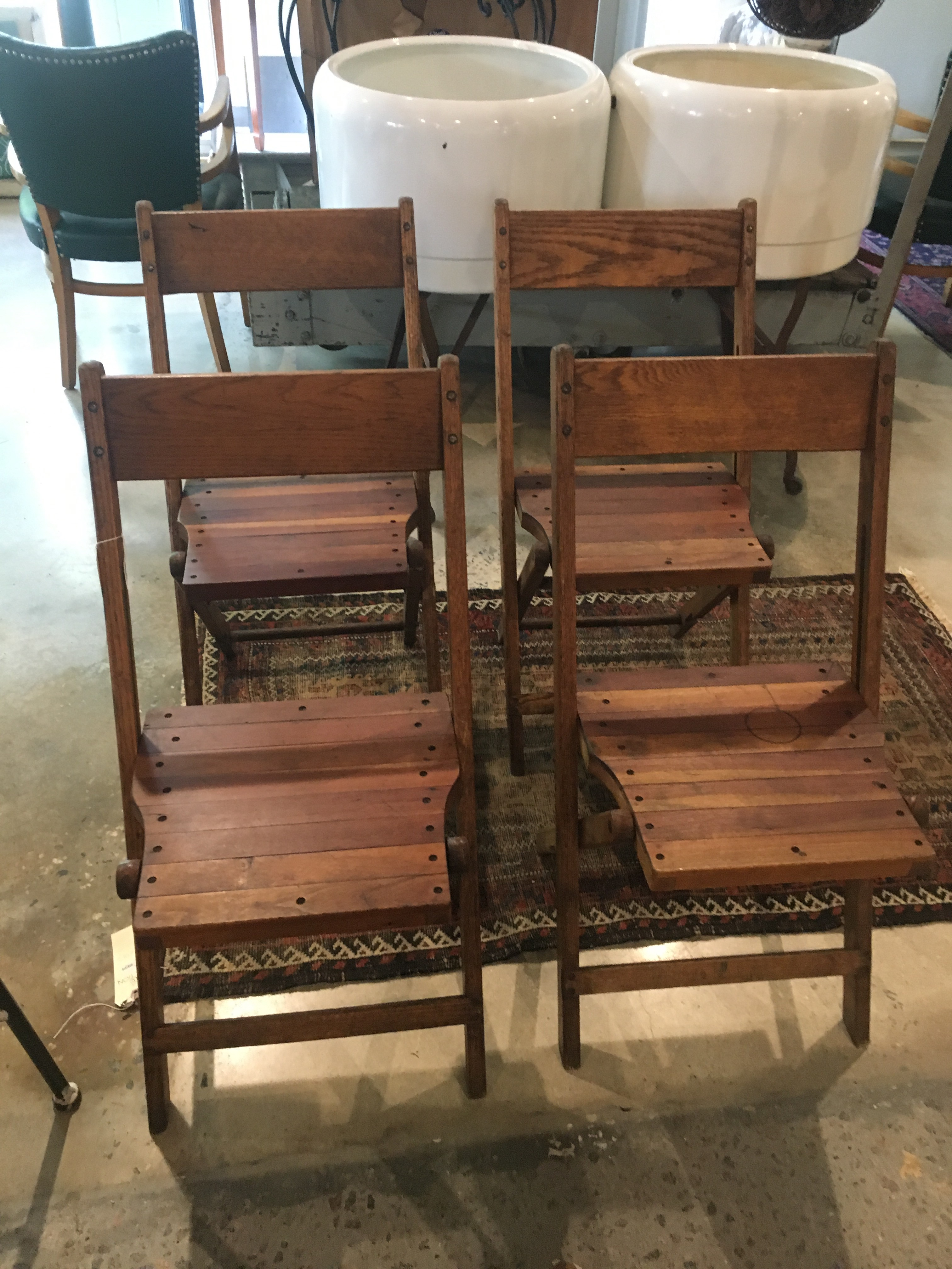 Wood Folding Chairs Set Form Amp Function