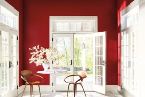 Benjamin Moore Caliente Paint Color