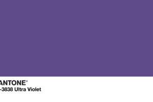 Pantone Ultra Violet Paint Color