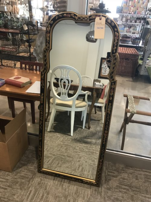 Black Lacquered Mirror