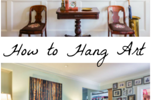 How to Hang Art