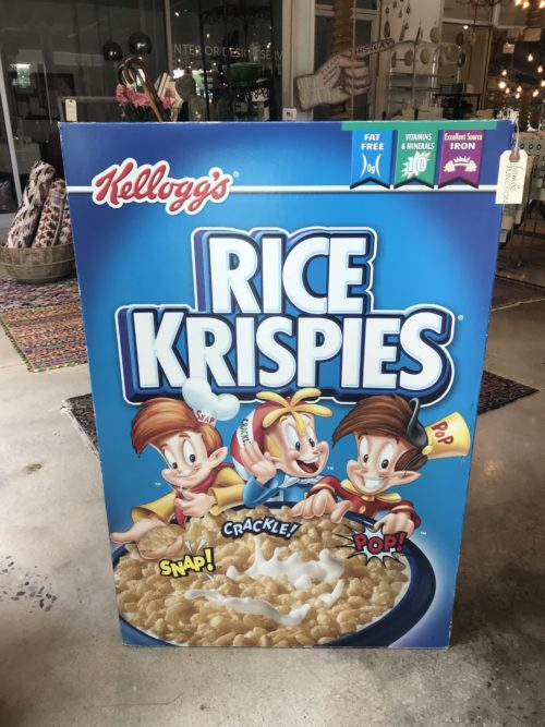 Rice Krispies Display Box