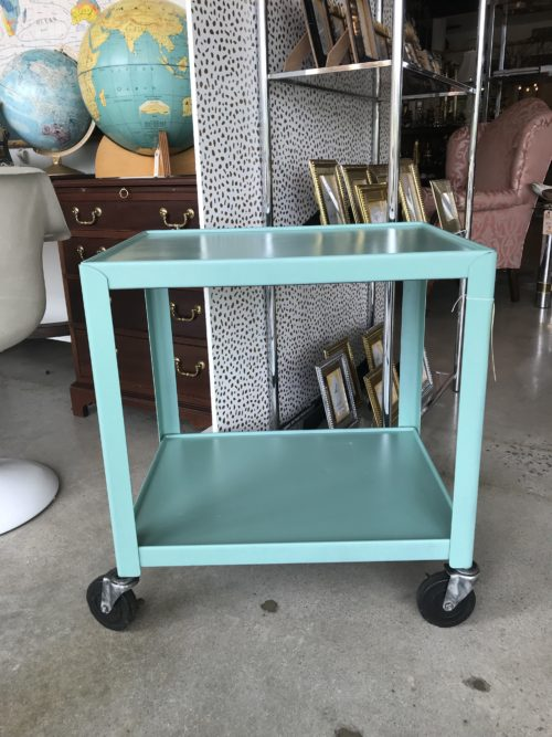 Teal School Cart