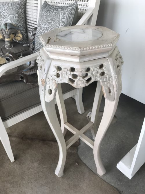 Shabby Chic Asian Stand