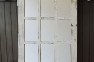 barn wood window mirror