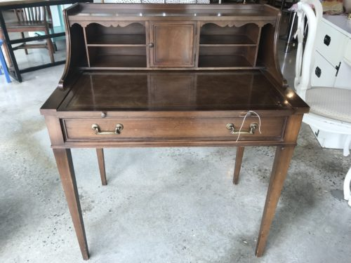 Leathertop Writing Desk