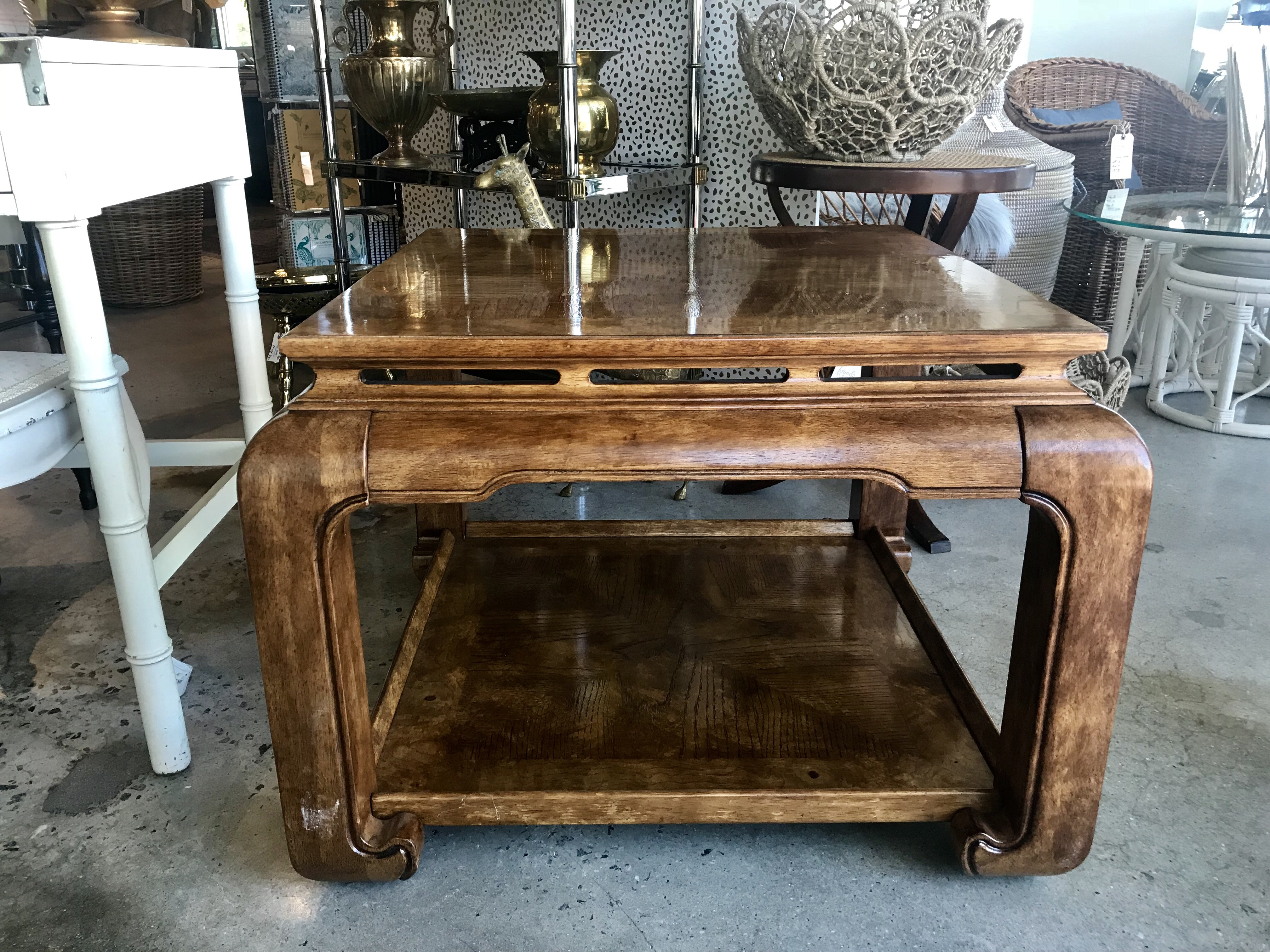 Ming End Table