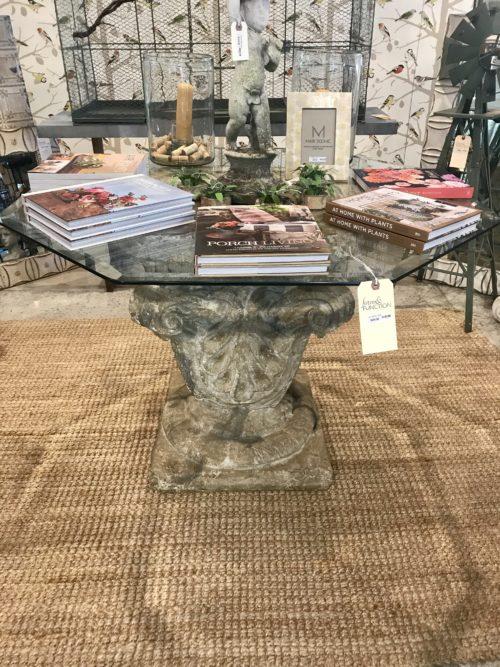 Urn Garden Table
