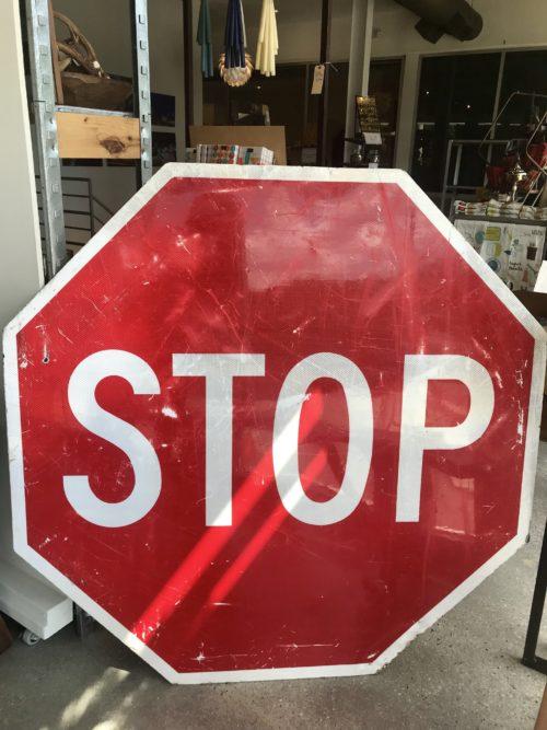 XL Stop Sign