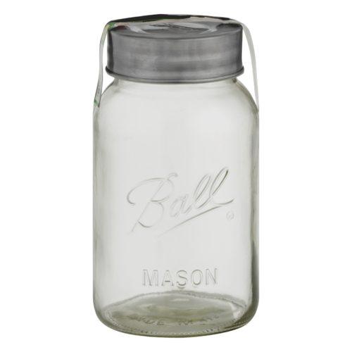 large ball mason storage jar