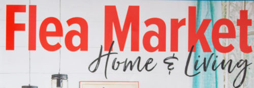 flea market home and living logo