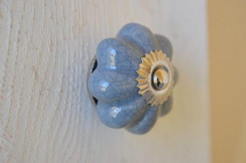 ceramic crackled glazed cabinet door knob