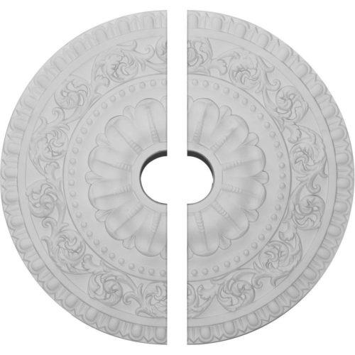 split ceiling medallion