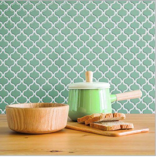 stick on easy apply sheet tiles