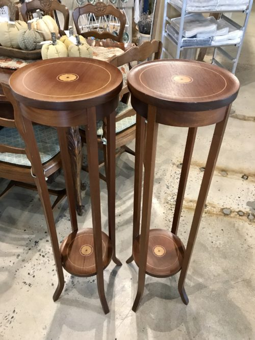 Wood Plant Stand