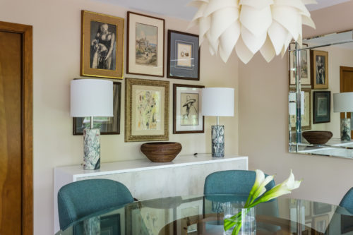 Chapel Hill modern interior design dining room