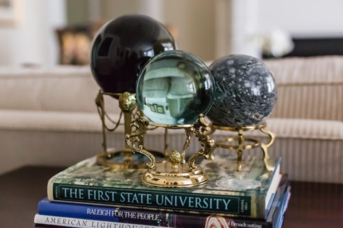 traditional decor globe on stand collection