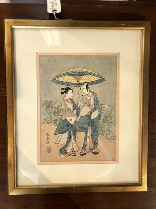 Asian Couple Art