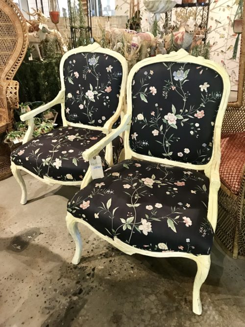 Yellow Tree Frame Chairs