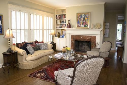 historic home living room furniture arrangement