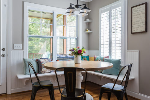 modern farmhouse round pedestal table home decorating ideas