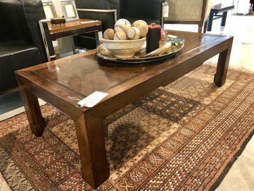 Baker Burl Coffee Table