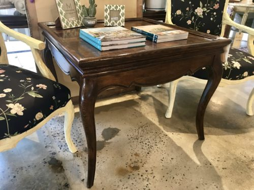 Square French Accent Table