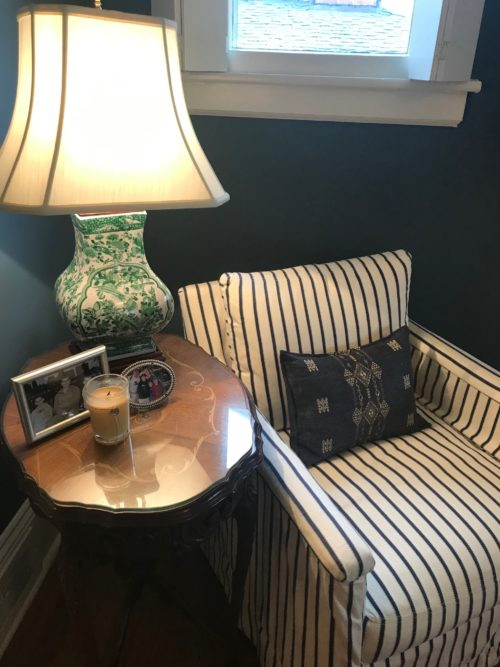 reading nook side table lamp