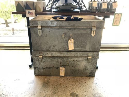 Galvanized Storage Chest
