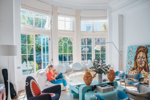 bright windows with clean glass spring tips