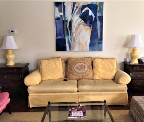 modern abstract art traditional decor