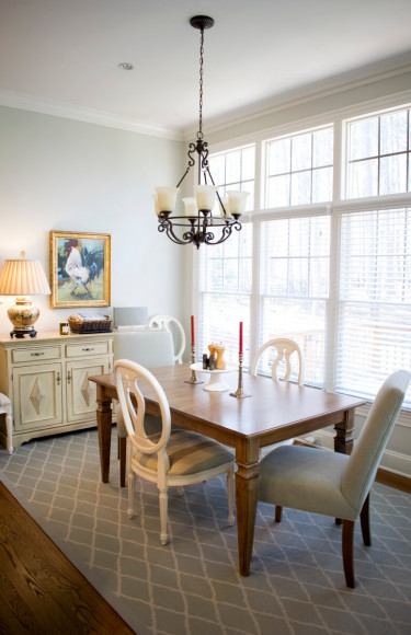 Kitchen Table Harp Back Chairs