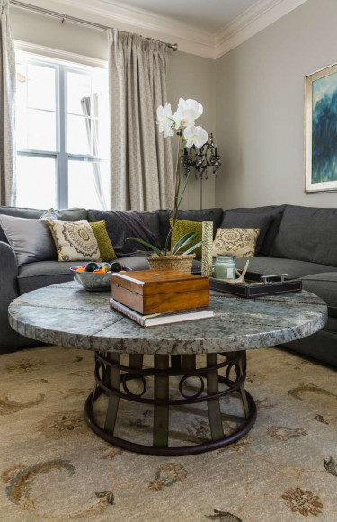 Living Room Upcycled Industrial Coffee Table