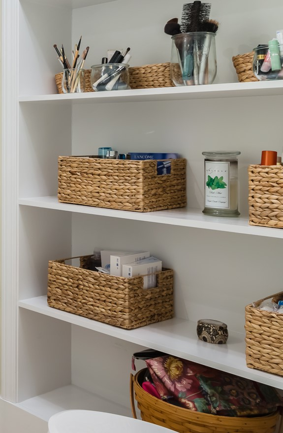baskets bathroom storage